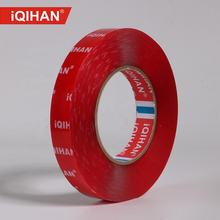 Hot selling acrylic red film transparent double sided tape