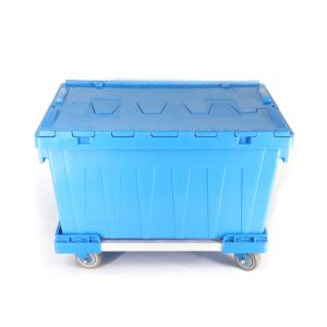 Strong Warehouse Logistic Plastic Logistic Moving Tote Box