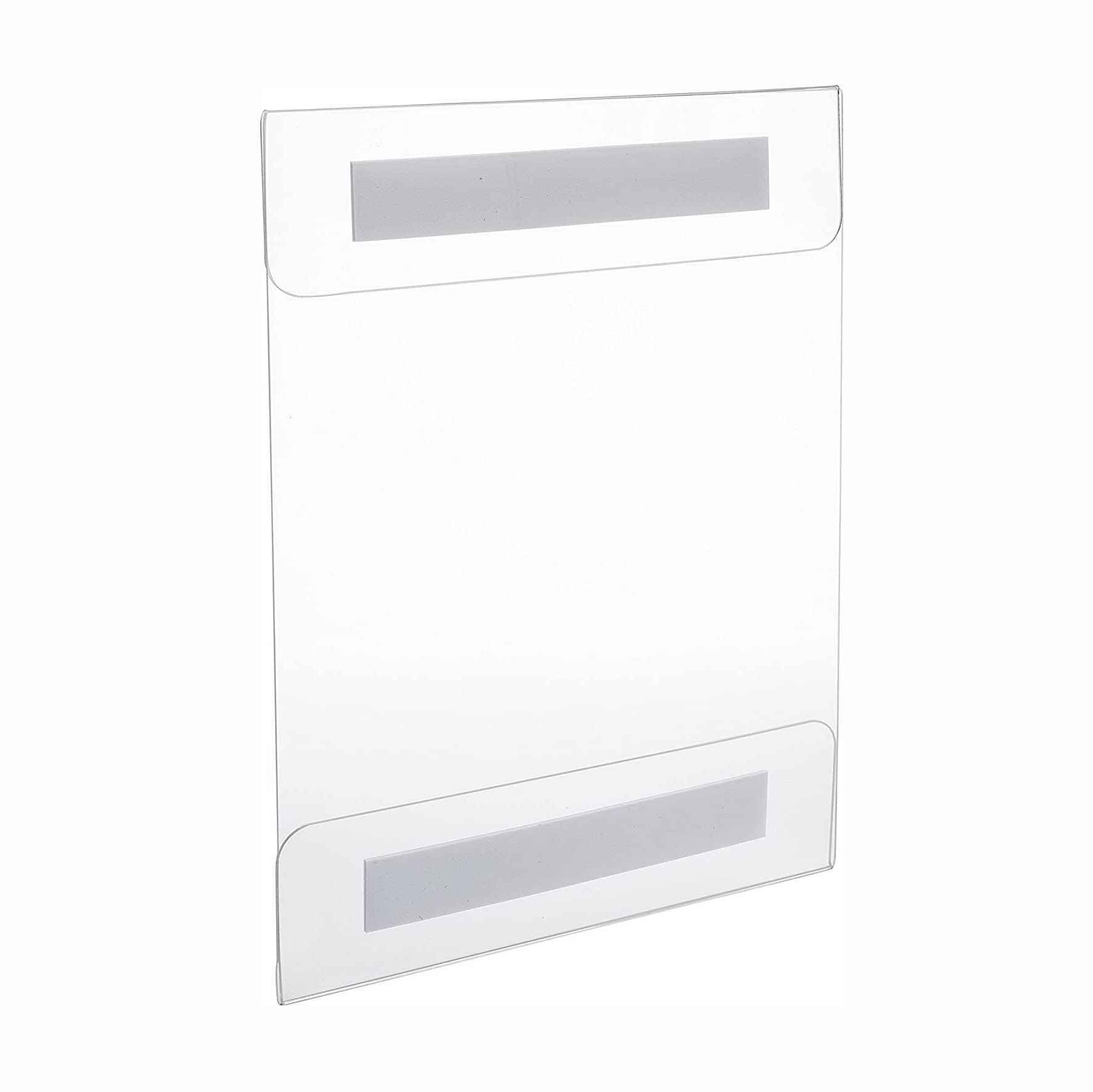 Factory cheap price 8.5 x 11 acrylic sign holder with wall mounted design
