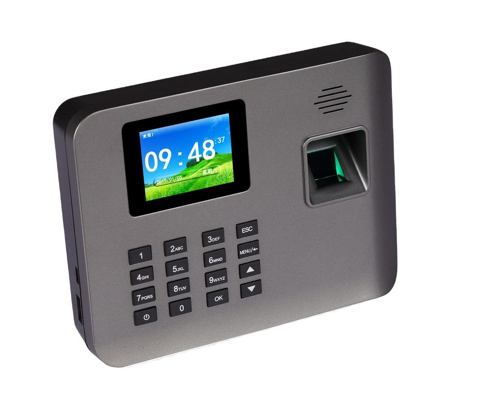 Realand A-L325 Fingerprint Time Attendance and Access Control Terminal 5000 Fingerprint Capacity with WIFI and Backup Battery