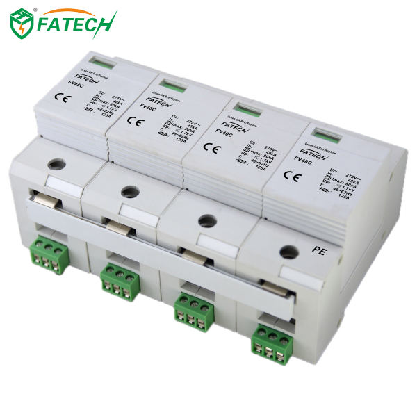 FATECH lightning protection system ce certification ac surge arrester
