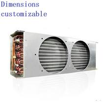 New type copper tube air cooled Fin Type Condenser for cold room
