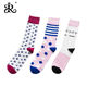 Manufacturers wholesale hot sale in Europe and America market men's variety of different colors fashion high quality cotton sock