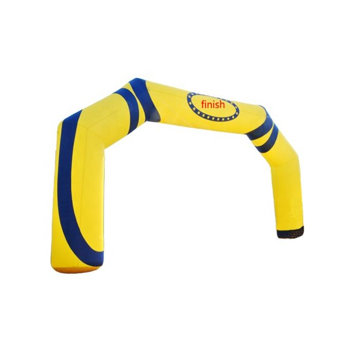 Outdoor advertising arch type inflatable archway goal for party