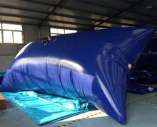 Soft PVC or TPU 50 000 gallon foldable  liquid storage tank