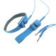 EP1104 blue fabric conductive antistatic adjustable esd wrist strap