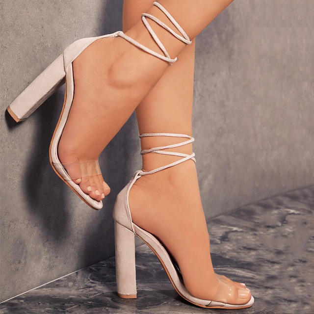 Big size High heels fashion Sandals for women and ladies