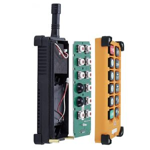 telecrane 10 single speed button wireless crane radio remote control F23-A   with transmitter and receiver for crane and hoist