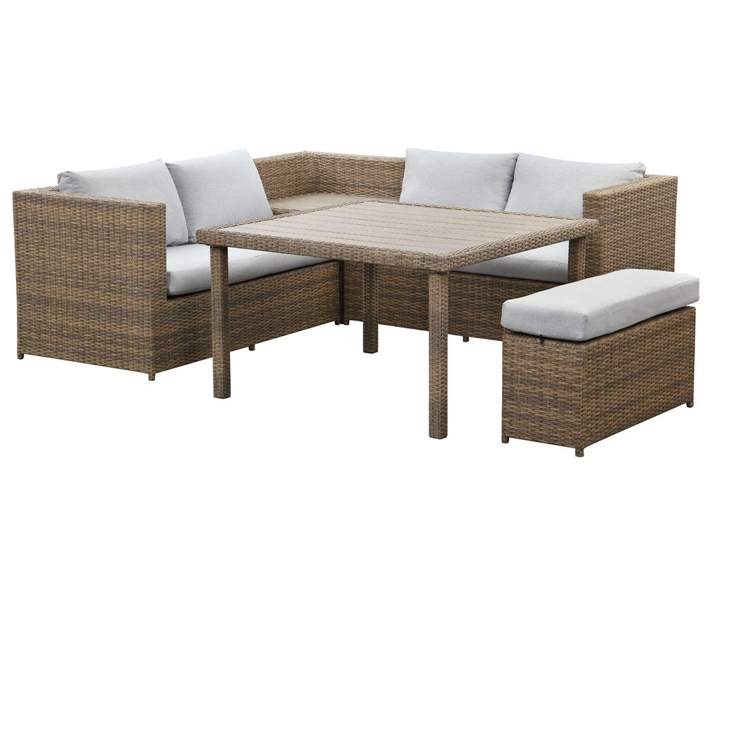 patio rattan garden furniture outdoor weather-proof furniture rattan synthetic