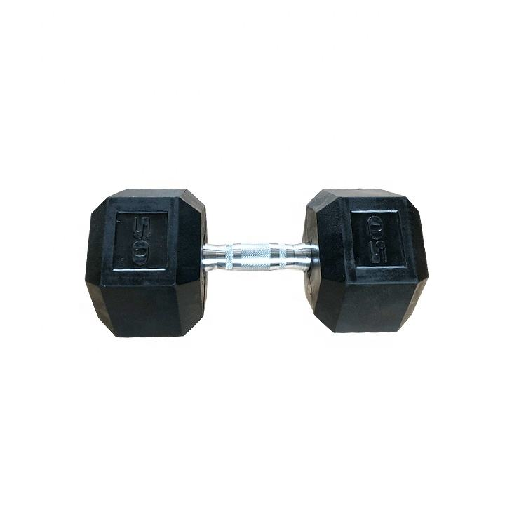 Gym Fitness Hex PVC 30 lbs Dumbbell OEM China Cheap Manufacturers Weight Lifting Equipment