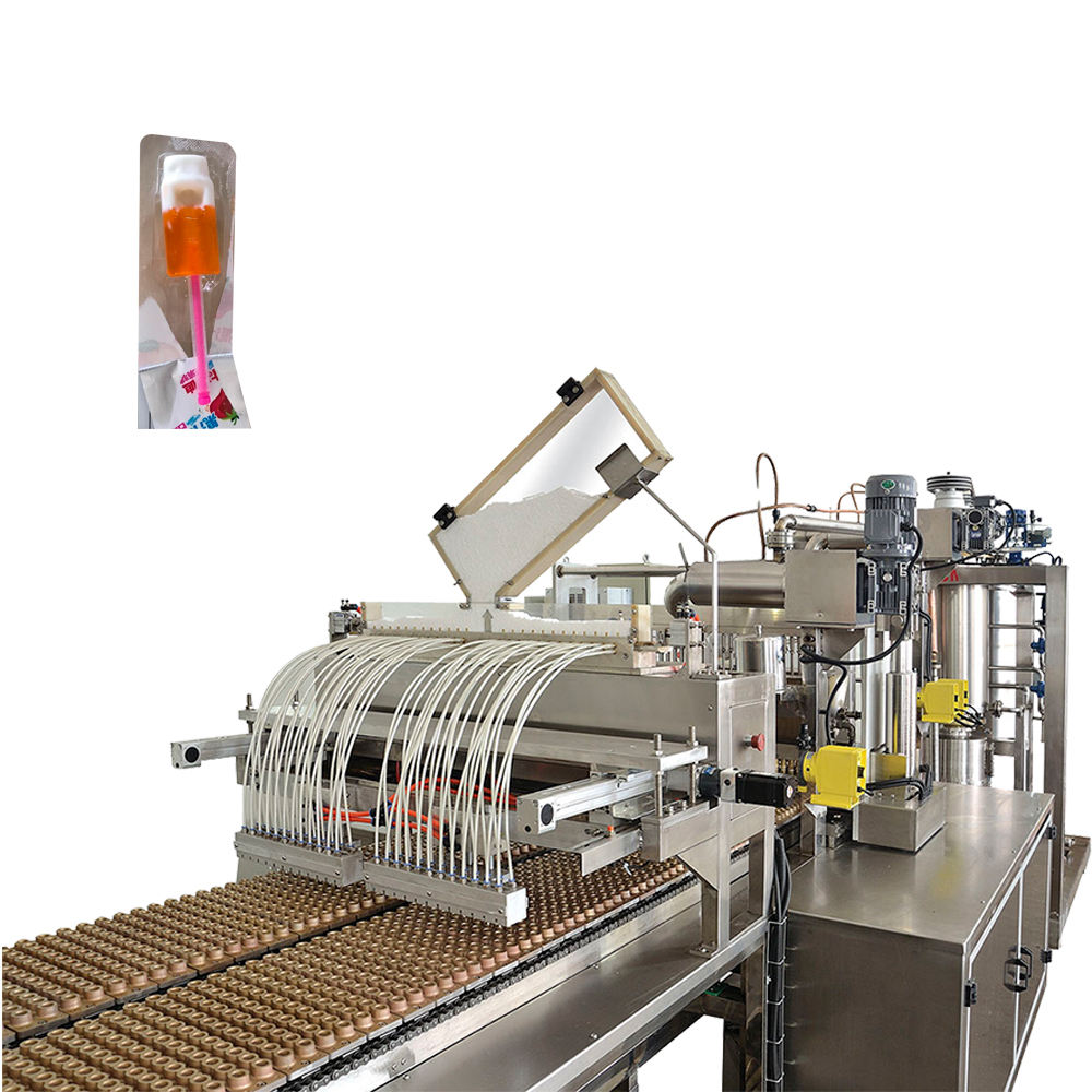 Whistle Candy Lollipop Making Machine