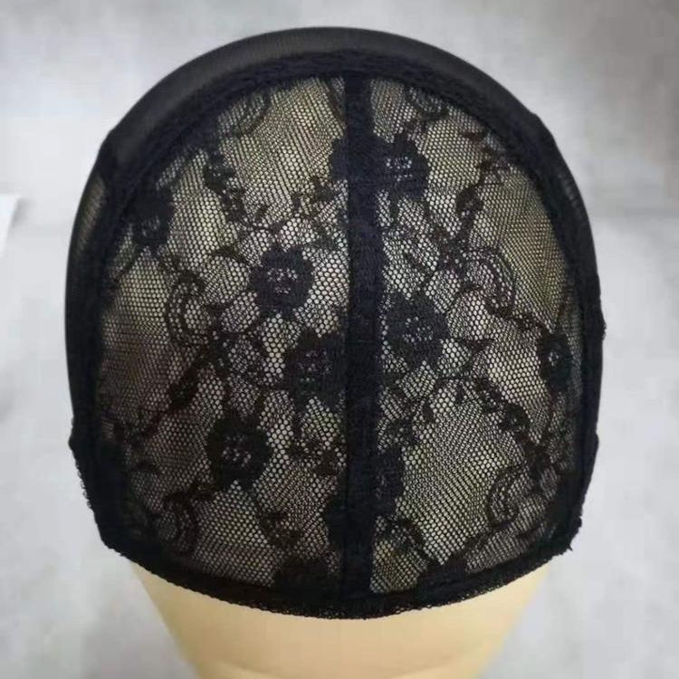 H-1 Adjustable breathable lace wig dome caps for making wigs