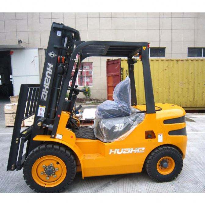 Brand New 1.6Ton 1.8Ton 2Ton Load 3Wheel Forklift 48 Volt Ballery Forklift Semi Electric