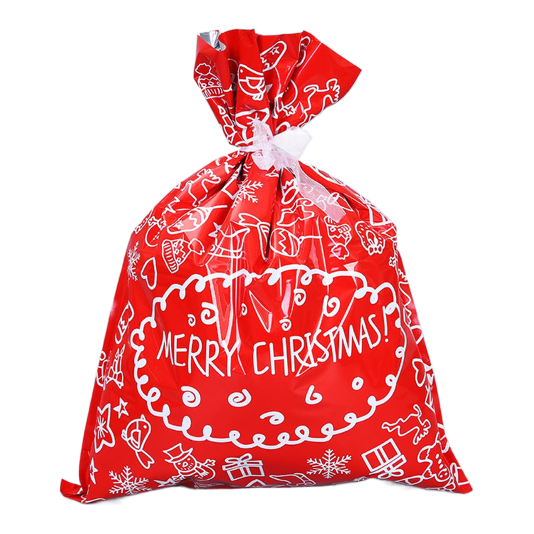 2020 new product quality assurance snow type christmas gifts bag