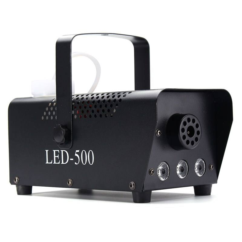 Professional Haze Fog Machine 500W Stage Decoration Smoke Machine With Remote Control