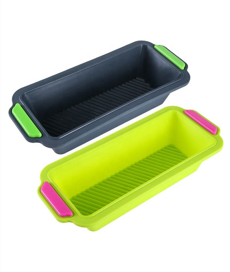 2019 New Amazon Hot Sale Nonstick BPA Free Silicone Bakeware - Silicone Bread Loaf Pan-silicone baking tray