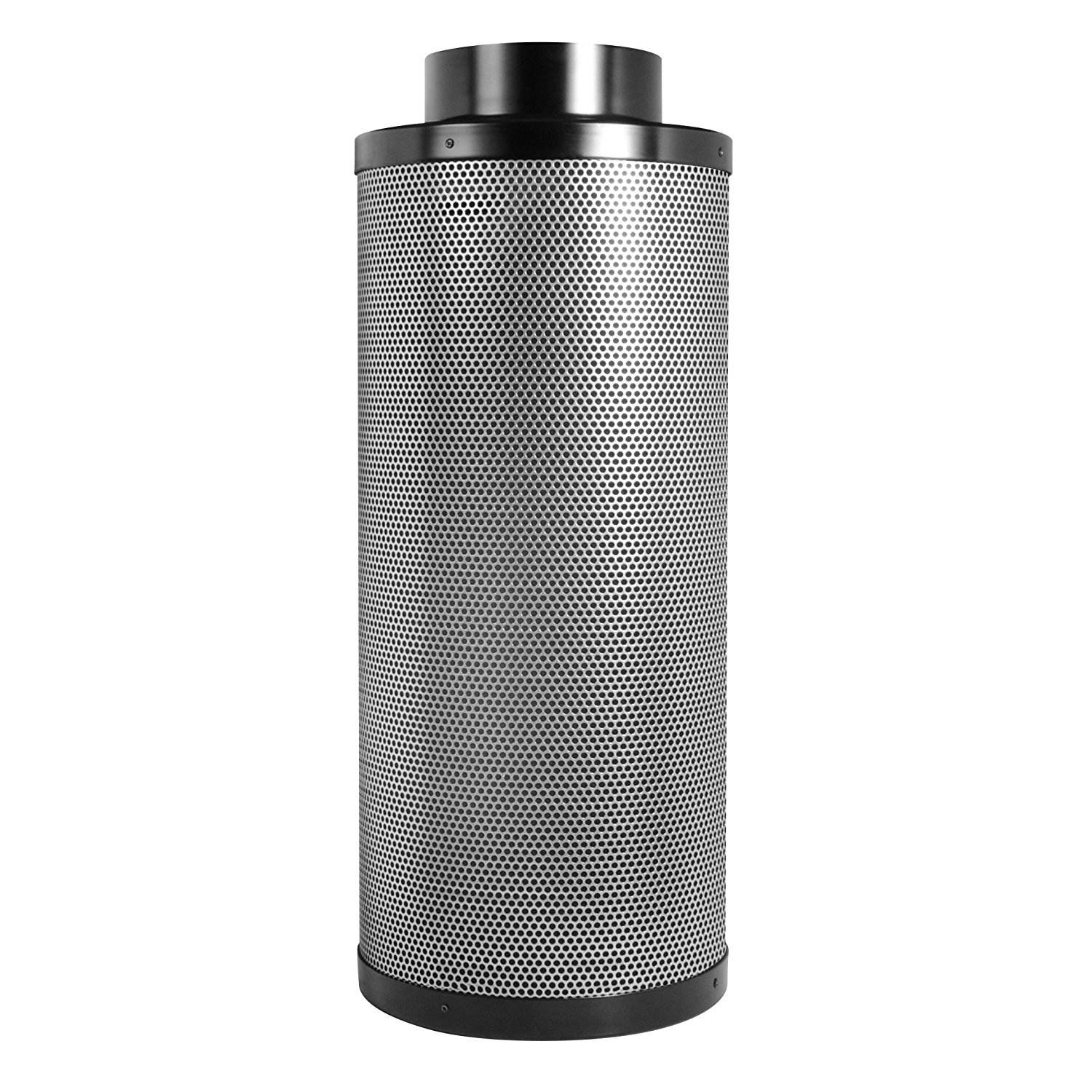 "Hydroponic 8"" Air Carbon Filter Virgin Charcoal Activated Charcoal Air Filter For Greenhouse"