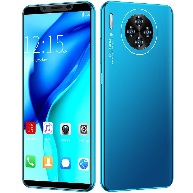 Hot Sale High Configuration Smart Phones M30plus Cheap OEM Smartphone Android 3G+ Network Smartphones Face ID unlock