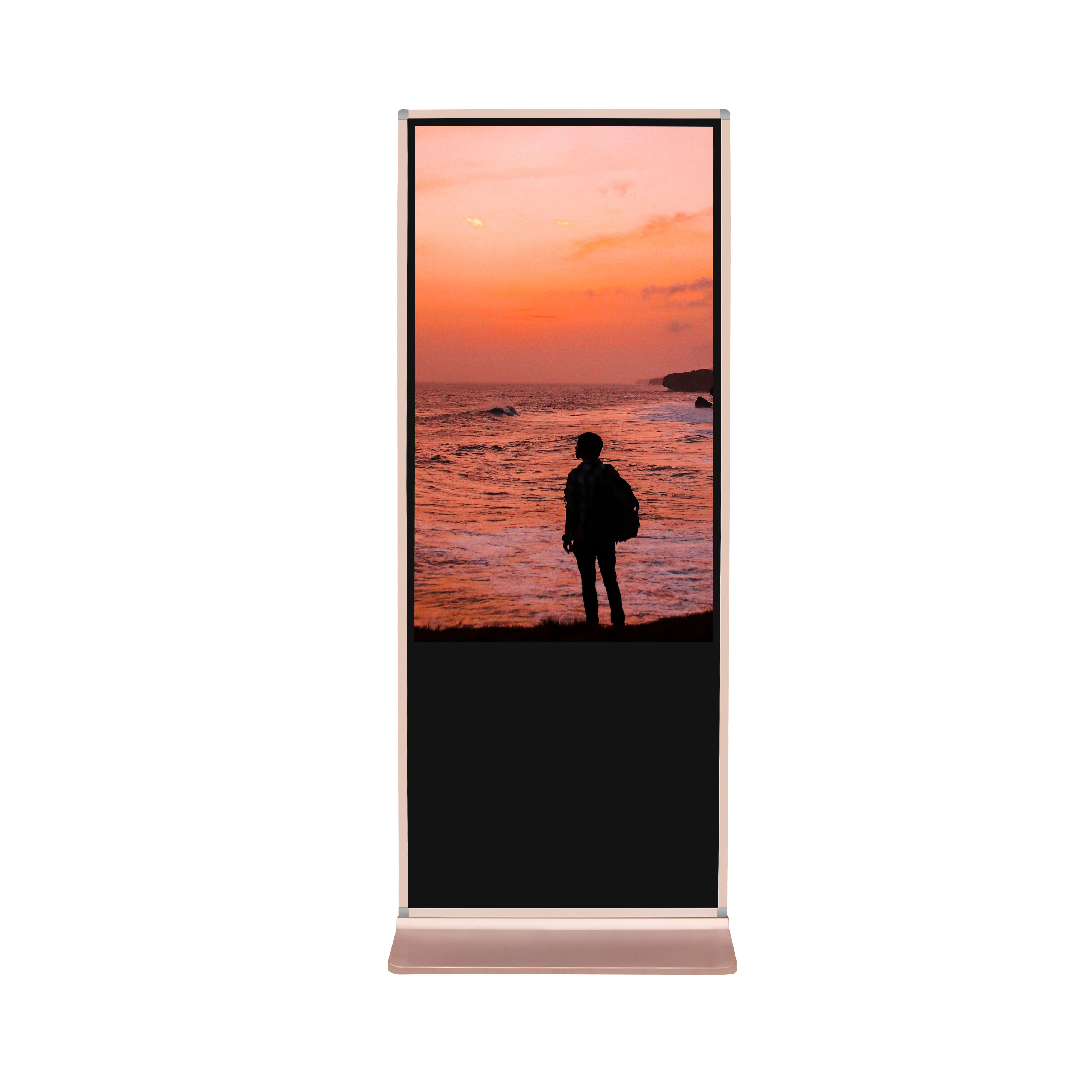 55 polegadas Android Rede Floor Standing Lcd Publicidade Digital Signage <span class=keywords><strong>Media</strong></span> <span class=keywords><strong>Player</strong></span>