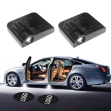 2pcs/set Universal Wireless Car Door Welcome Logo Light Projector LED Laser Lamp For Car or Custom Logo