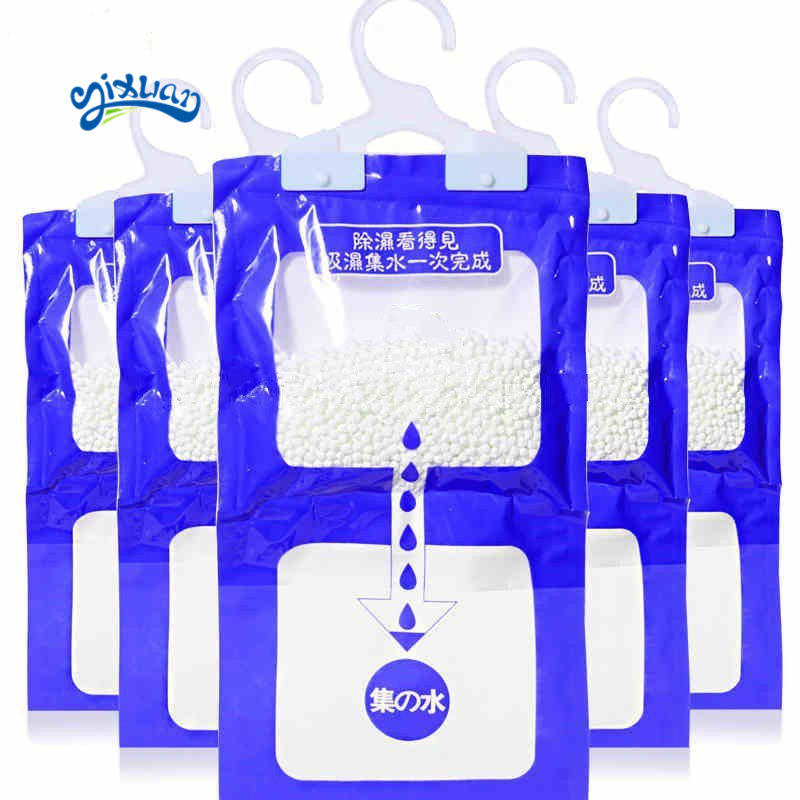 220g wardrobe hanging anti-humidity household moisture absorber dry bag