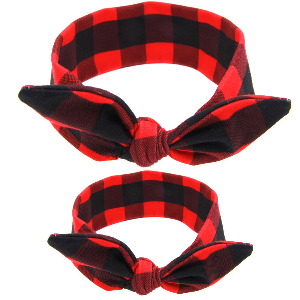 Women and Girls Stretchy Rabbit Bow Headbands/Bandana/Turban/Headwrap Knotted Yoga Hairband
