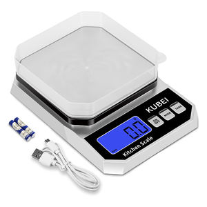 Best Intelligent balance scales 5kg Large home health electronic kitchen plastic food scale