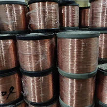Customized Diameter 0.02-8mm Fine enameled copper wire for Transformer