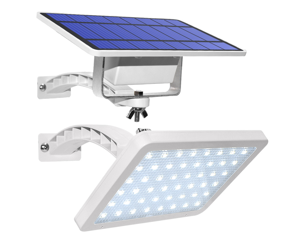 800lm Solar Lamp 48 leds Solar Light For Outdoor Garden Wall Yard LED Security Lighting