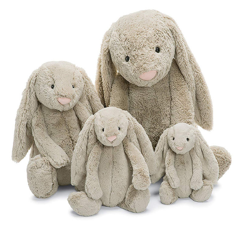 Rabbit Original Quality Pink 2019 New Design All Natural Wholesale Promotion Gray Easter Long Ear Dancing Cute Bunny Plush Toy