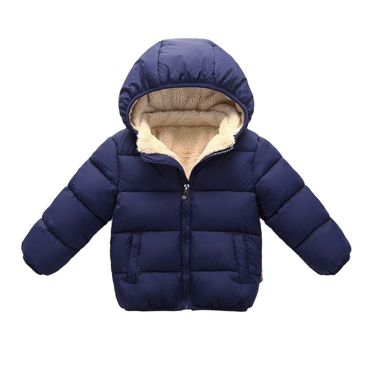 autumn baby girls's jackets coats boy's winter warm comfortable jacket kids child hooded jacket for wholesale