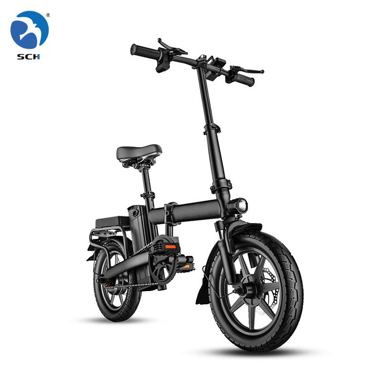 Made in China warehouse stock 14inch Folding electric bicycle foldable electric bike