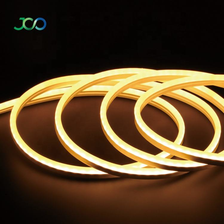 JS SMART LED Outlet White Bendable Neon Lights SMD 2835 Led Neon Strip Light IP67 DC 24V Led Neon Flex Rope Light