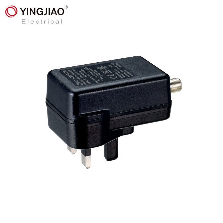Wireless Antenna TV Power Supply 12V 1A 1000mA 18W Wall Mount Adapter Amplified HD Digital Connector Adapter