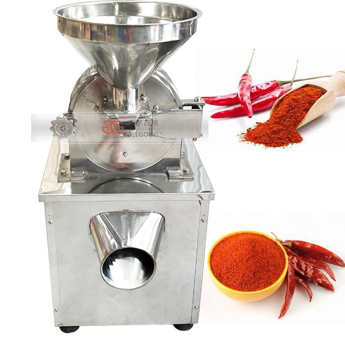 GG-S20B Dry Masala Pepper Grinder Machine Spice Chili Powder Grinding Machinery