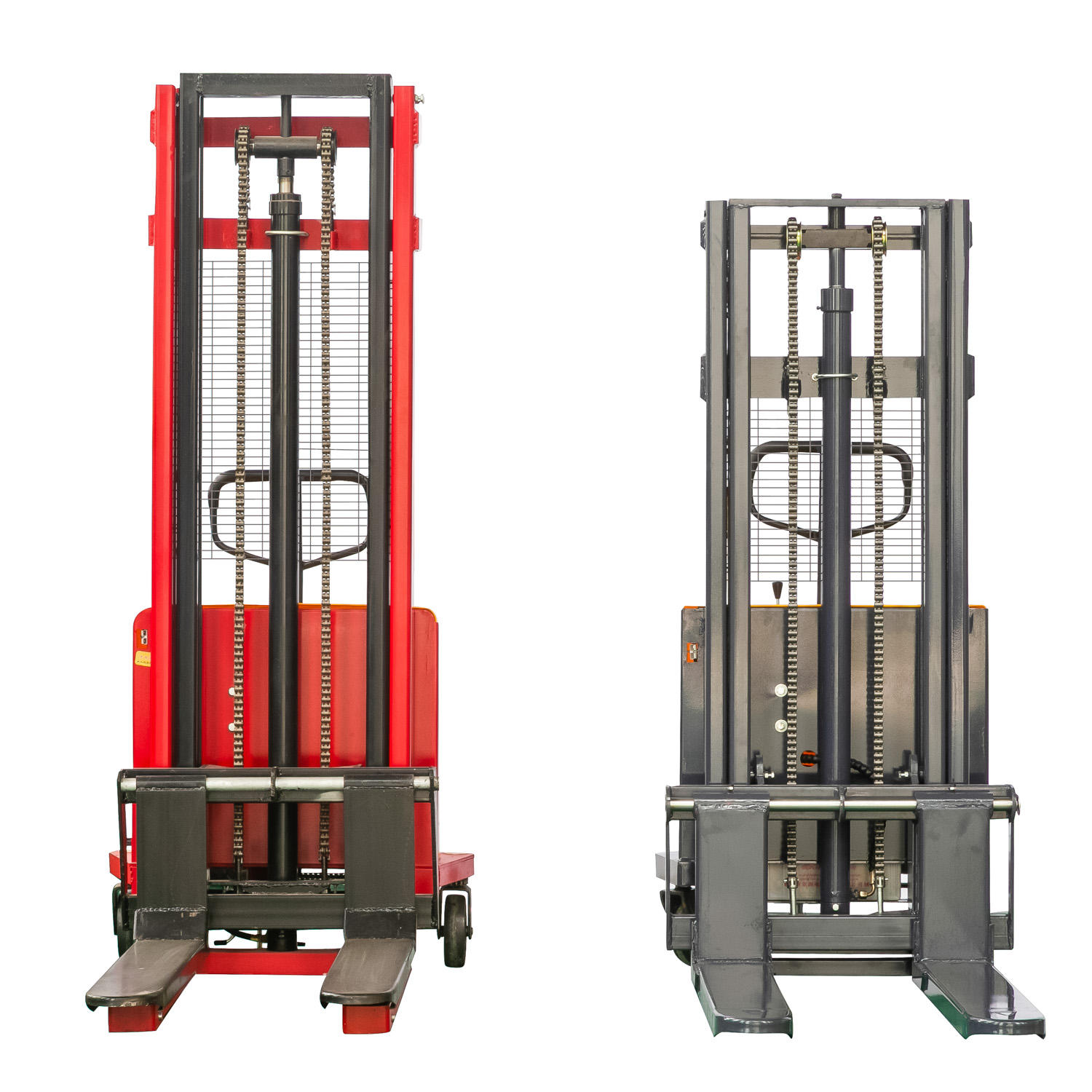 warehouse used narrow aisle 1000 kg manual electric stacker for hot sale