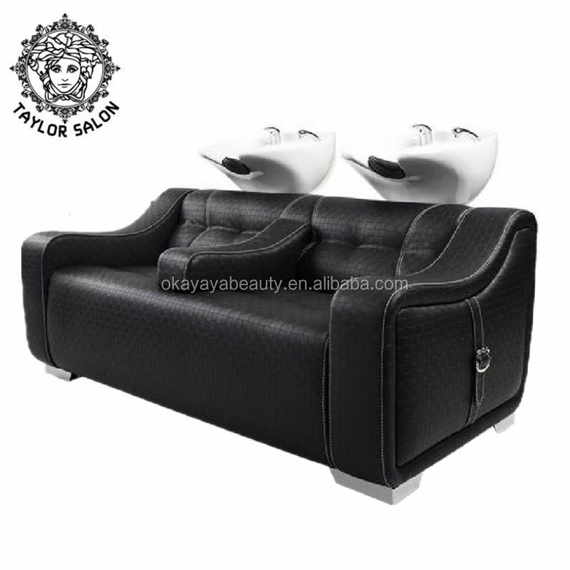 hair salon backwash chairs hairdresser washing salon double shampoo chair