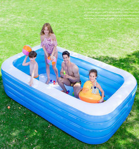 Stylish swimming pool balls baby automatic cover