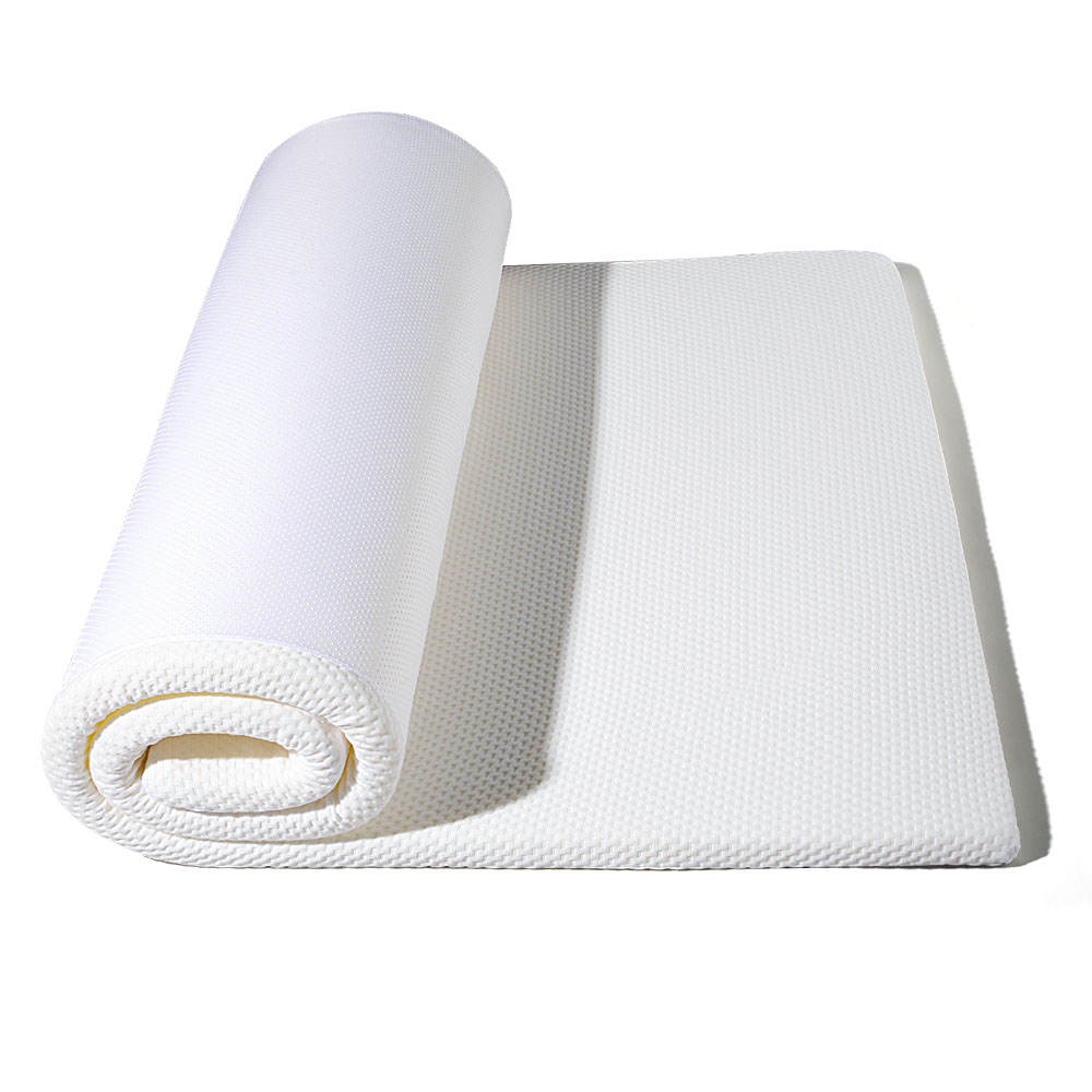 Low Cost China Manufacture Professional High Density Foam Mattress Topper Rollable Breathable Mattress