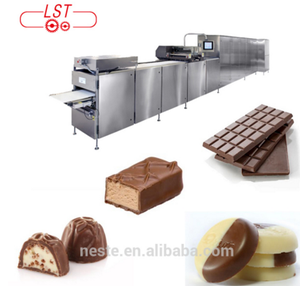 Automatic biscuit production line chocolate bar making line machine price