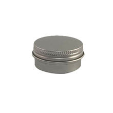15g 15ml Fine Aluminum Tin Jar Containers with Screw Lids for Cosmetic Products