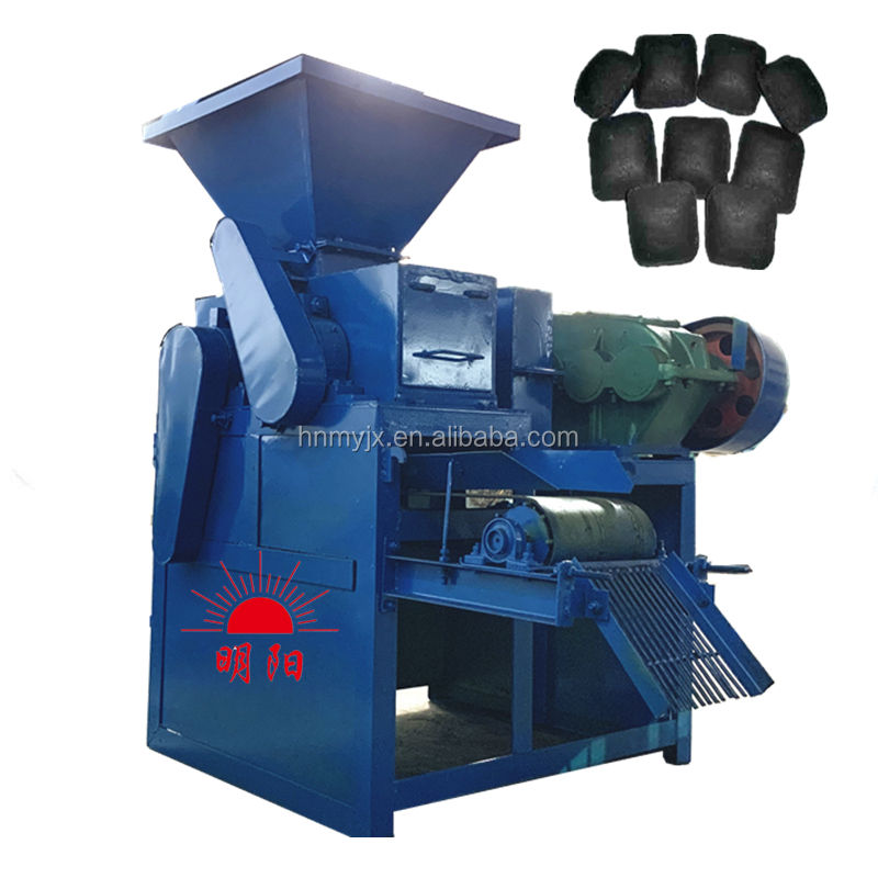 Factory Supply Small Bbq Charcoal Briquette Making Machine Price