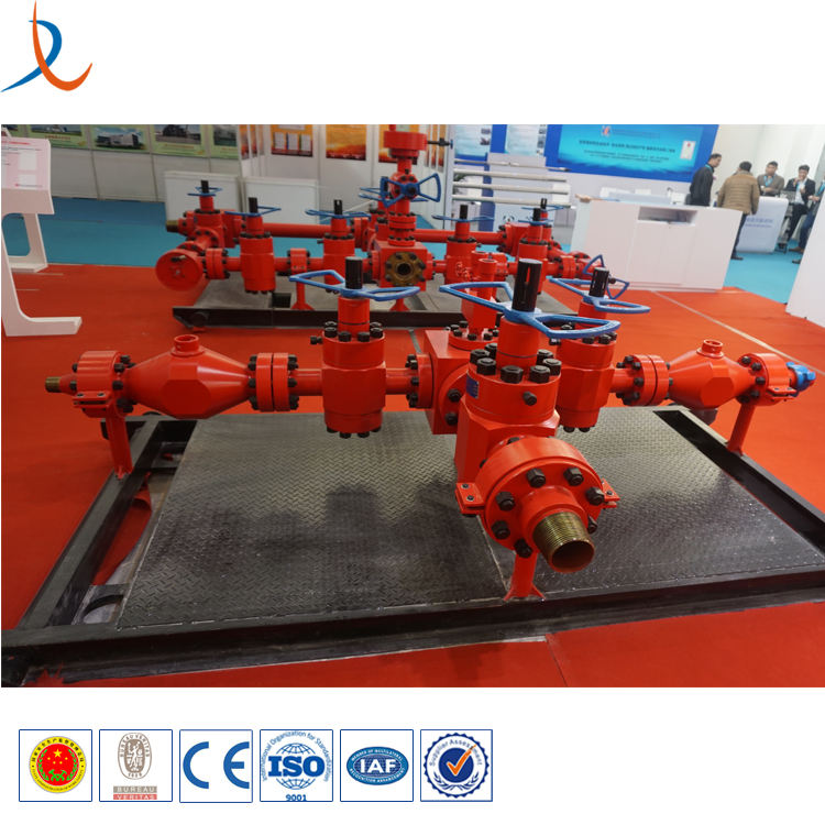 China factory competitive price bop choke manifold choke and kill manifold buffer chamber