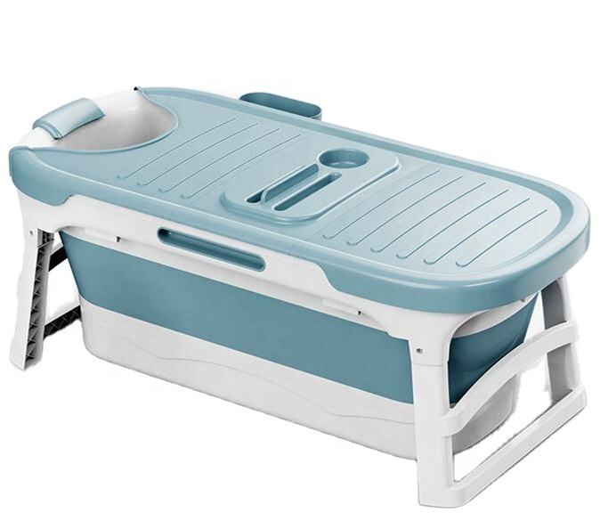 portable plastic bathtub for adults folding tub spa bathtub