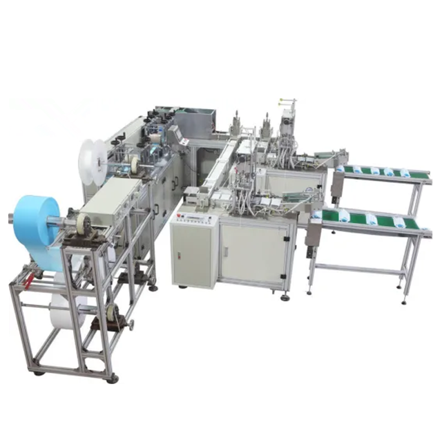 NEW full automatic disposable surgical medical nonwoven face mask making machine
