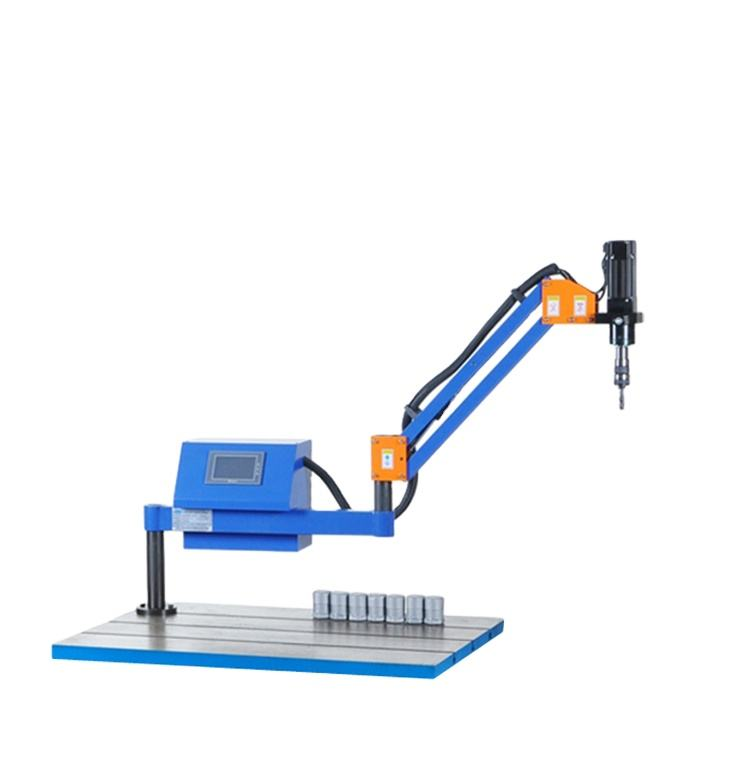 China High Precision Electric Long Arm Hand Tapping Machine
