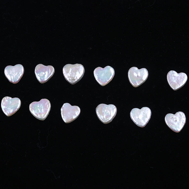 Heart Shape Baroque Nature Pearl Loose Wholesale Freshwater Pearl