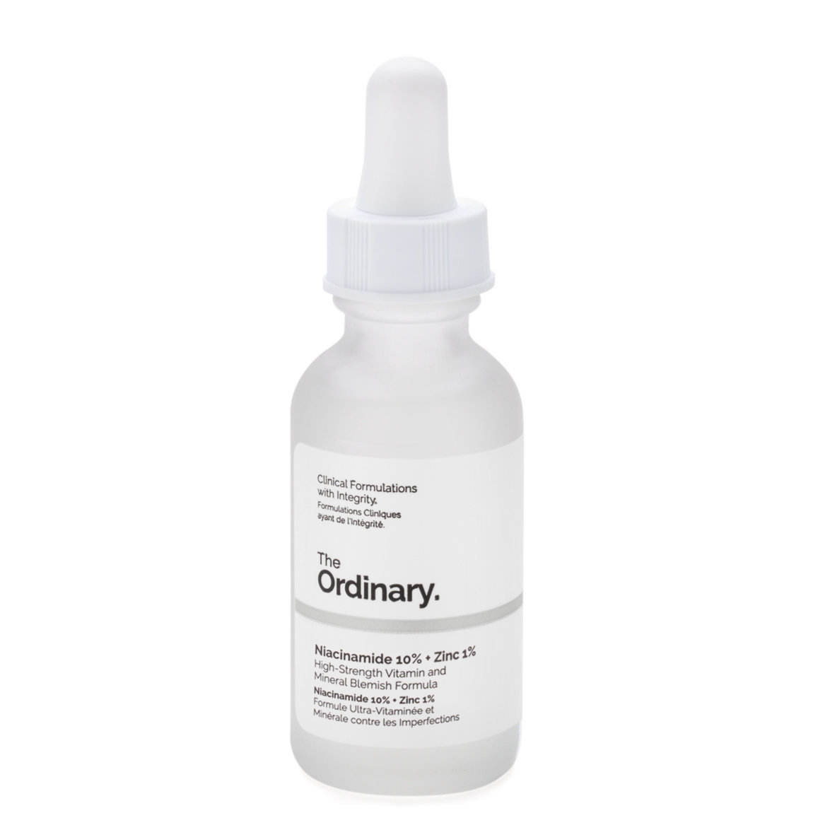 The Ordinary eye essence 10% Niacinamide Extract 1% Zinc stock solution Shrink pores Even skin tone