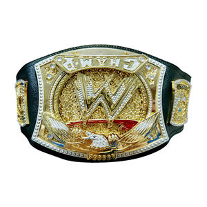 High Quality Cosplay 95cm Wwe Champion Belt Of Pugilism Boxing Match ABS Gold-plated Wearable Toys Ornaments