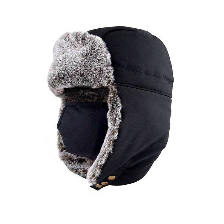 Mannen Warm Sport Sneeuw Ski Baseball Cap Thicken Winter Hoeden